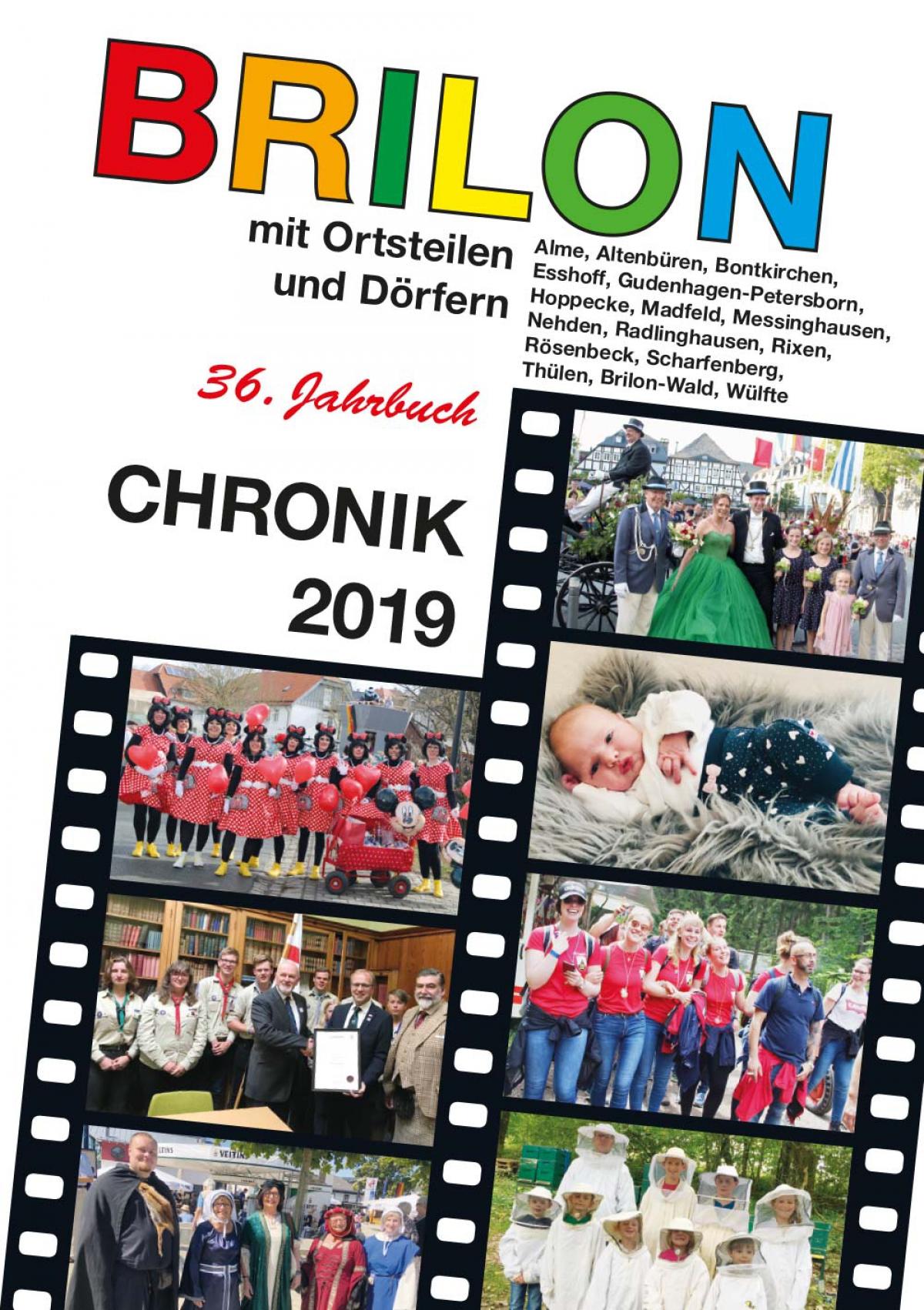 Die Briloner Chronik 2019 ist ab dem 5. Dezember für 10€ erhältlich